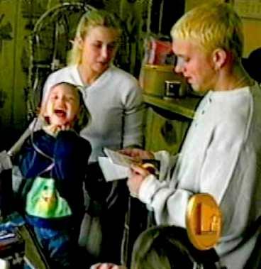 Eminem and laney mathers